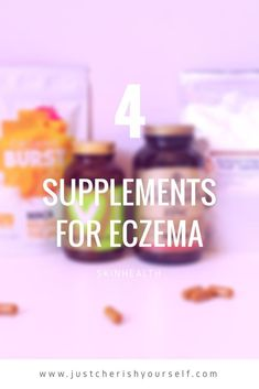 You can't rid of eczema! Sorry to tell you this but it's what I believe and here's why. You can only keep it under control by getting rid of the triggers like stress or food. Supplements will give you an extra push and can help your body to repair and get rid of toxins. Varicose Vein Removal, Varicose Veins, Eczema Remedies, Natural Remedies, Get Rid Of Eczema, Anti Itch Cream, Look Here, Sagging Skin