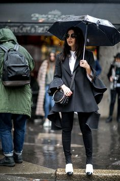Pin for Later: The Best Street Style Looks From Milan Fashion Week Day 5 Nausheen Shah
