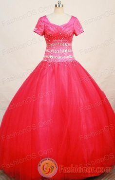 quinceanera dress with short sleeves
