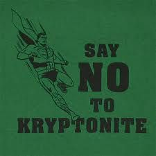 kryptonite superman says no