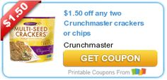 NEW Printable Coupons: Crunchmaster, Covergirl, Pedigree and More on http://www.icravefreebies.com/