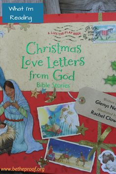 Christmas Love Letters from God by Glenys Nellist, Illustrated by Rachel Clowes