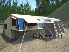 Trailer Tents | ... Camper Trailer Tent (Model CTT6004-DA) - large image for Trailer Tent