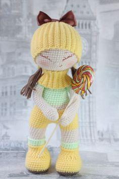 PDF Кукла Улыбашка. Бесплатный мастер-класс, схема и описание для вязания игрушки амигуруми крючком. FREE amigurumi pattern. #амигуруми #amigurumi #схема #описание #мк #pattern #вязание #crochet #knitting #toy #handmade #рукоделие #кукла #куколка #девочка #пупс #doll #pupa #popsy #dolly #pdf