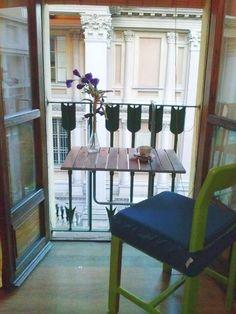 Camera da letto - zona relax con vista Mole Antonelliana