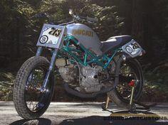 Ducati Monster Street Tracker by Behind Bars Customs