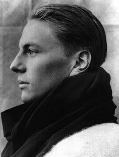 The incredibly beautiful profile of doomed English mountaineer Andrew 'Sandy' Comyn Irvine (1902 - 1924) who took part in the third British expedition to Mount Everest. Both he and his climbing partner George Mallory disappeared near the summit. Mallory's body was found years later but Irvine's remains still have to be discovered.