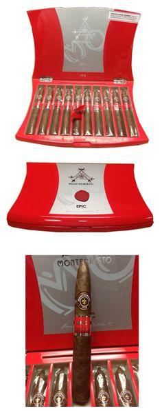 Montecristo Epic #2 Torpedo - Red Box