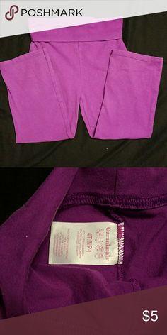 Baby Yoga Pants Purple yoga pants for baby's, super comfy! Garanimals Bottoms