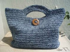 La ventana azul: 52.- Bolso de verano a crochet