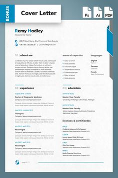 Registered Nurse Resume Template will help you to present your candidacy in the best way. Nursing Resume Template, Resume Templates, Sample Resume, Css Cheat Sheet, Registered Nurse Resume, Creative Cv Template, Bio Data, Job Info, Consulting Logo