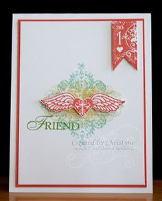 Another Stampin' Up! Affection Collection card