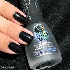 Dance Legend- Glitter Base Black (peel off black base coat)