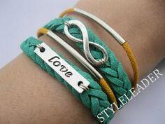 BraceletTure love will go on Braceletantique silver by Styleleader