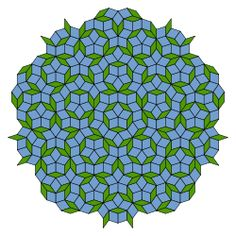 Penrose tiling - Wikipedia, the free encyclopedia
