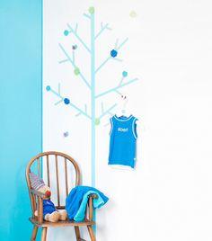 Stoere accessoires voor een jongenskamer uit de boys only collectie van kidsware - Blauwe turquoise decoratie ...