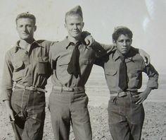 Navy men. Vintage photo.