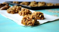 Healthier Oatmeal Fig Cookies