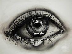 Karakalem Göz Cizimleri (En Yeniler) - Güzel Sözler Cool Art Drawings, Pencil Art Drawings, Art Drawings Sketches, Tattoo Drawings, Realistic Pencil Drawings, Eyes Artwork, Eye Sketch, Marvel Drawings, Eye Painting