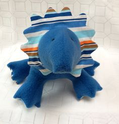 Dizzy Dino  by LittleLuckies2 on Etsy