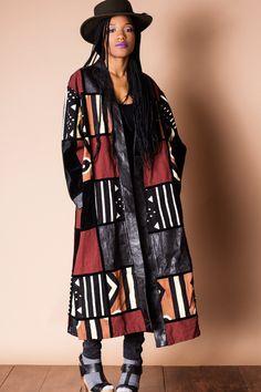 African Patchwork Coat