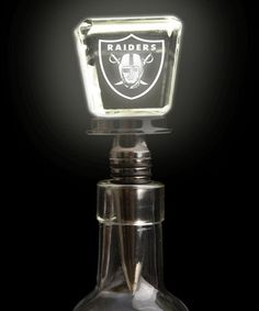 Take a look at this Oakland Raiders LED Wine Stopper by Evergreen on #zulily today!