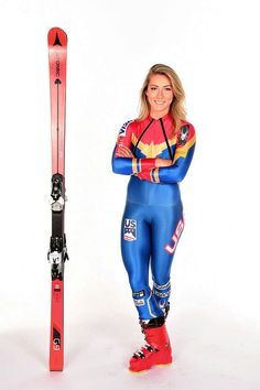 Atomic blonde Mikaela Shiffrin is arguably the best female Alpine ski racer in the world. Not yet she is on a pace that could leave her as the most decorated World Cup racer ever Youth Olympic Games, Winter Olympic Games, Alpine Skiing, Snow Skiing, Ski Ski, Sports Models, Sports Women, Snowboard, Skate