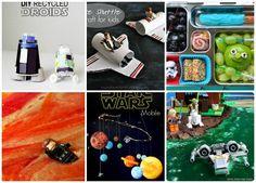 A Quarta podem seja com você - Star Wars atividades para as crianças