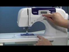 Máquina de Costura CS6000i - Brother - YouTube