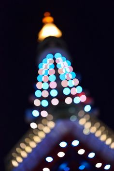 Tokyo Tower  Night View by to the dream, via Flickr