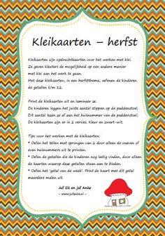 Thema herfst | Juf Anke lesidee kleuters Autumn Crafts, School Projects, Preschool, Bullet Journal, Kids, Fall, Rain, Hand Spinning, Young Children