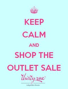 31 gifts outlet sale coming soon!  You dont want to miss. Start shopping at 7pm  evening of Thursday, December 26 to 3 a.m. EST on Saturday, December 28.   You can log onto my website to start shopping on the 26th. Share the news!   https://www.mythirtyone.com/jenny1978/