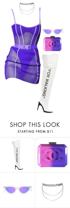"""""""Untitled #604"""" by milly-oro on Polyvore featuring Off-White, Puma and Chanel"""
