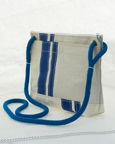 Corsica Crossbody: Recycled Sail Bag