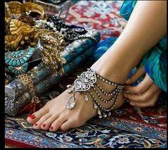 Most gorgeous goddess barefoot sandals