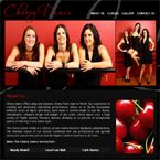 Nuleaf's website Design for Cherry Dance.