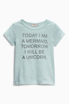 Buy Blue Mermaid Unicorn T-Shirt (3-16yrs) from the Next UK online shop