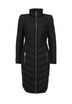 Пуховик Odri, цвет: черный. Артикул: OD001EWGJW47. Женская одежда / Верхняя одежда / Пуховики и зимние куртки