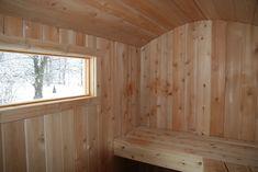 Custom Built Finnish Style Wood burning and Electric Saunas
