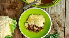 Cauliflower-Topped Shepherd's Pie Recipe. Seriously delish!