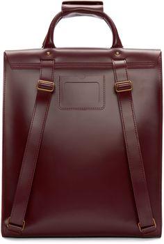 Dr. Martens - Red Leather Backpack