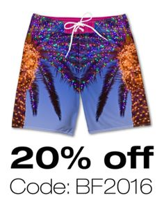 Best deal of the season... 20% off board shorts now! Code: Bf2016 #anymatic#shortomatic#customdesign #custom