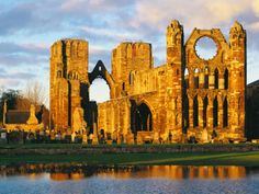 """""""Great Britain - Scotland - Moray - Elgin - Cathedral Remains, 13th Century""""=>"""