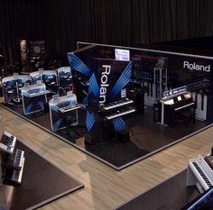 A landing shot of the Gear4music Roland Planet X. @Roland UK @Roland U.S.