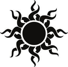 line art sun tattoos - Google Search