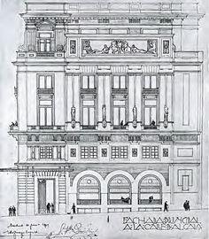 Proyecto Círculo Bellas Artes Fernández Quintanilla y Zuazo - Eugenio Fernández Quintanilla - Wikipedia, la enciclopedia libre