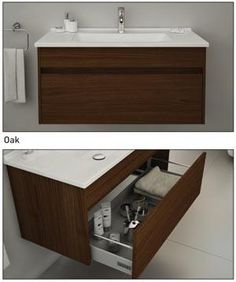 Vitra S50 Vanity Sink Unit including Basin Oak 450mm to 1200mm | eBay