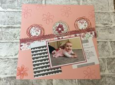 Stampin' Up! Scrapbook Sketches, Scrapbook Layouts, Scrapbooking, Scribble, Stampin Up, Challenges, Kids Rugs, Frame, Number 10