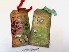 Astrid's Artistic Efforts: Mini book final part - the tags