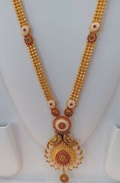 Markings For Gold Jewelry Refferal: 7867865706 Gold Mangalsutra Designs, Gold Earrings Designs, Gold Designs, Necklace Designs, Gold Chain Design, Gold Jewellery Design, Gold Jewelry Simple, Bridal Jewelry, Gold Necklace